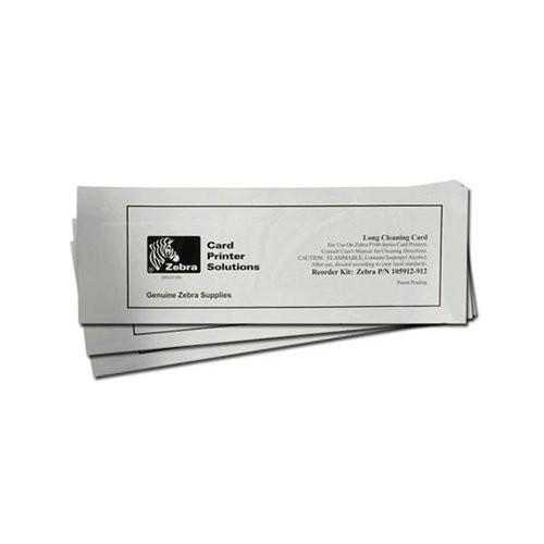 Zebra kit καρτών καθαρισμού, long