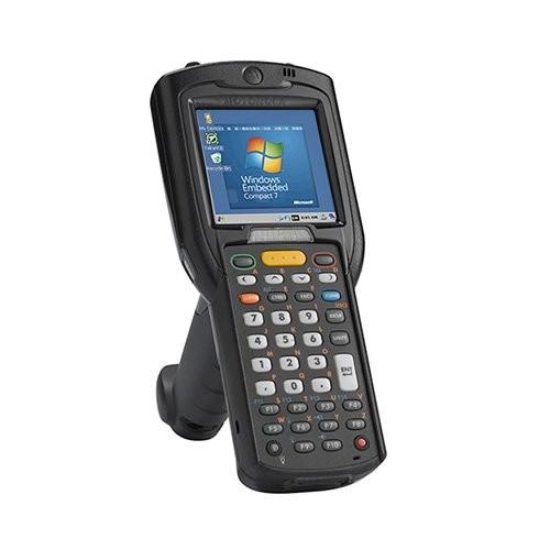 Zebra MC3200 standard, 1D, bluetooth, Wi-Fi, αλφαριθμητικό, gun, οθόνη, WEC 7 (MC32N0-GL4HCLE0A)