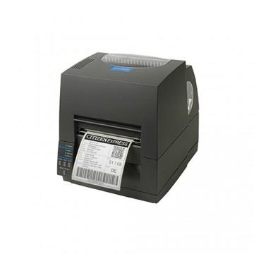 Citizen CL-S631, 12 dots/mm (300 dpi), peeler, ZPL, Datamax (Ethernet, Premium), μαύρο (1000819EPPL), 1000819EPPL