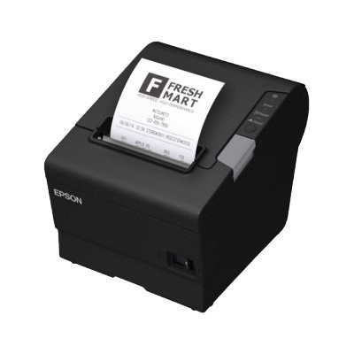 Epson TM-T88V-iHub, Ethernet, ePOS, μαύρο (C31CA85792)