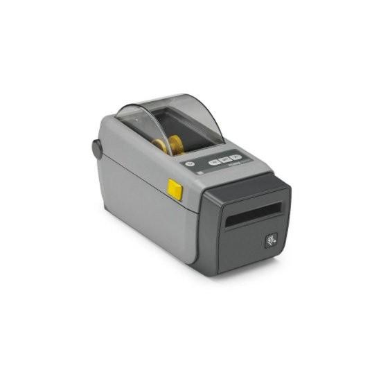 Zebra ZD410, 12 dots/mm (300 dpi), MS, RTC, EPLII, ZPLII, USB, γκρι (ZD41023-D0EM00EZ)