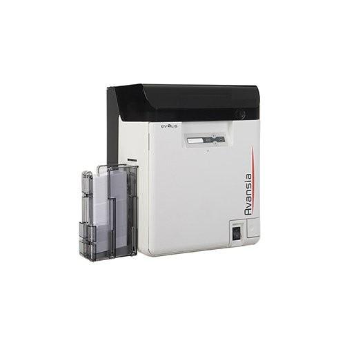 Evolis Avansia, διπλής όψης, 24 dots/mm (600 dpi), USB, Ethernet, MSR, smart, οθόνη, χωρίς επαφή (AV1HBELYBD)