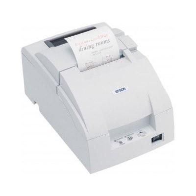 Epson TM-U220B, RS232, cutter, λευκό (C31C514007)