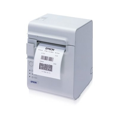 Epson TM-L90, 8 dots/mm (203 dpi), linerless, RS232, λευκό (C31C412607)