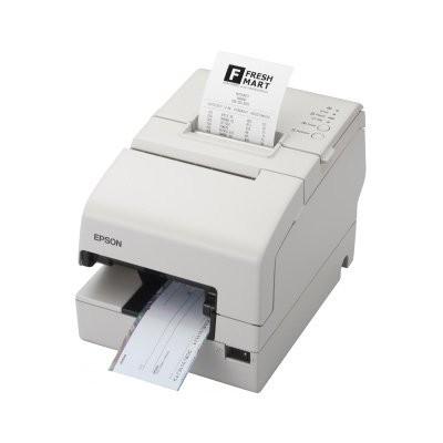 Epson TM-H 6000IV, USB, RS232, cutter, MICR, λευκό (C31CB25033)