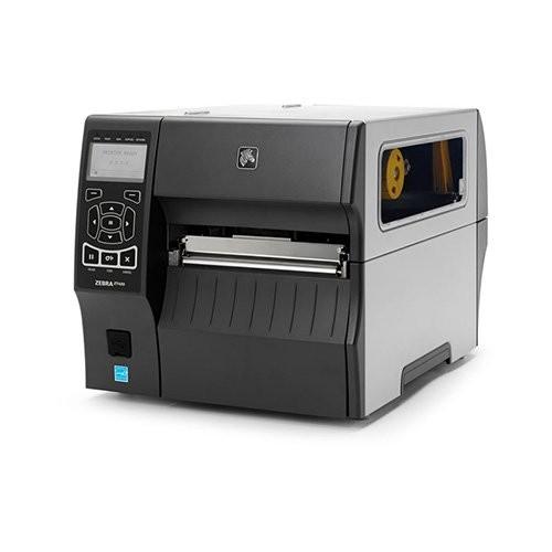 Zebra ZT420, 8 dots/mm (203 dpi), peeler, rewinder, RTC, οθόνη, EPL, ZPL, ZPLII, USB, RS232, bluetooth, Ethernet (ZT42062-T4E0000Z)