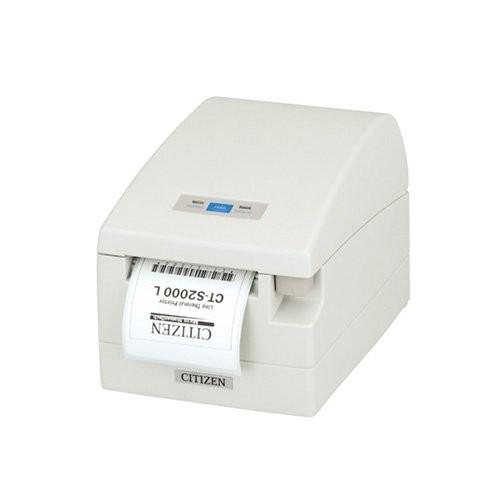 Citizen CT-S2000/L, USB, RS232, 8 dots/mm (203 dpi), λευκό (CTS2000RSEWHL)