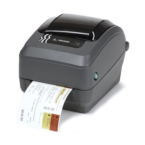 Zebra GX430t rev2, 12 dots/mm (300 dpi), peeler, οθόνη, EPL, ZPL, bluetooth (GX43-102821-000)