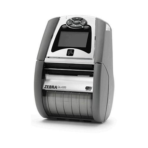 Zebra QLn320 για χώρους υγείας, USB, RS232, bluetooth, Wi-Fi, 8 dots/mm (203 dpi), οθόνη, RTC, EPL, ZPL, CPCL (QH3-AUNAEM00-00)