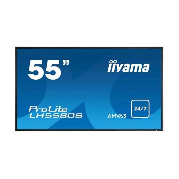 iiyama ProLite LH5580S, 24/7, 138.6cm (54.6''), full HD, μαύρο (LH5580S-B1)