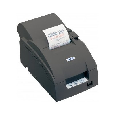 Epson TM-U220A, Ethernet, cutter, μαύρο (C31C513057E)
