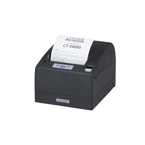 Citizen CT-S4000, USB, RS232, 8 dots/mm (203 dpi), cutter, μαύρο (CTS4000RSEBK)