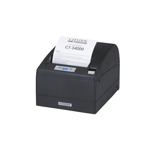 Citizen CT-S4000/L, USB, RS232, 8 dots/mm (203 dpi), cutter, μαύρο (CTS4000RSEBKL)