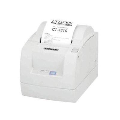 Citizen CT-S310II, 8 dots/mm (203 dpi), cutter, λευκό (CTS310IIEWH)