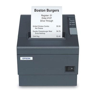 Epson TM-T88IV ReStick, LPT, 8 dots/mm (203 dpi), cutter, μαύρο (interner Umbau)