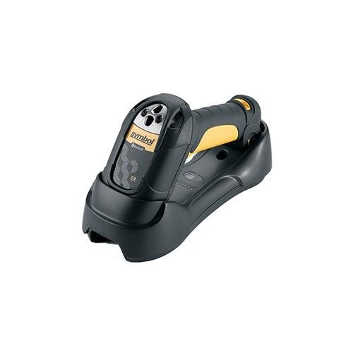 Zebra LS3578, bluetooth, 1D, LR, kit (USB), μαύρο, κίτρινο (LS3578-ERBU0100UR)