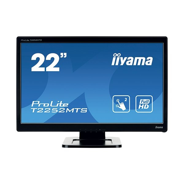 iiyama ProLite T2252MTS, 54.6cm (21.5''), optical multitouch, full HD, μαύρο (T2252MTS-B3)