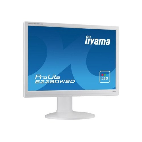 iiyama ProLite B2280WSD, 55.9 cm (22''), λευκό (B2280WSD-W1)