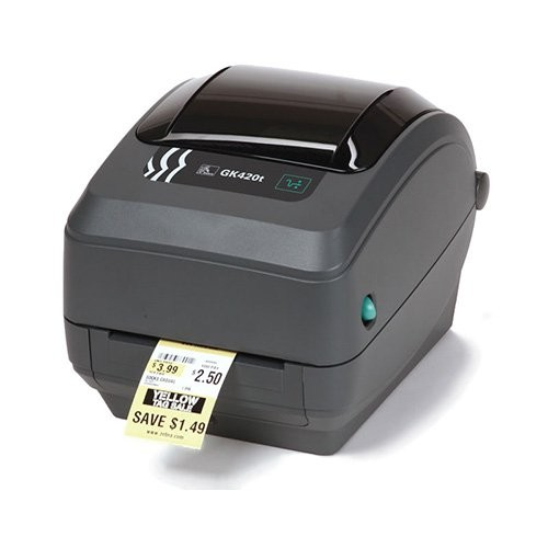 Zebra GK420t rev2, 8 dots/mm (203 dpi), peeler, EPL, ZPL, USB, print server (ethernet) (GK42-102221-000)