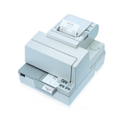 Epson TM-H 5000 II, powered-USB, cutter, λευκό (C31C249012PU)