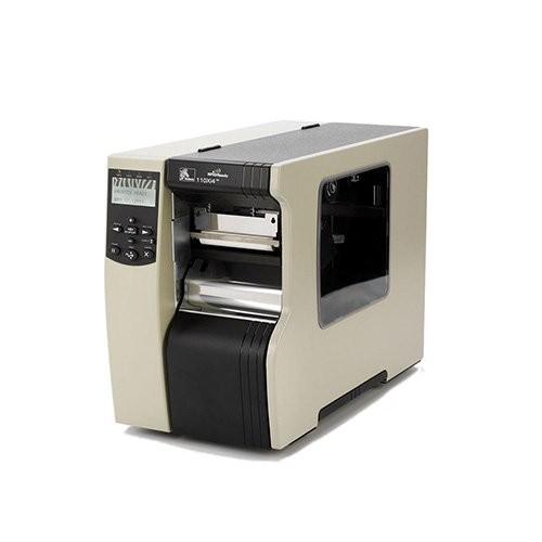Zebra 110Xi4, 12 dots/mm (300 dpi), peeler, rewind, ZPLII, print server (113-85E-00203)