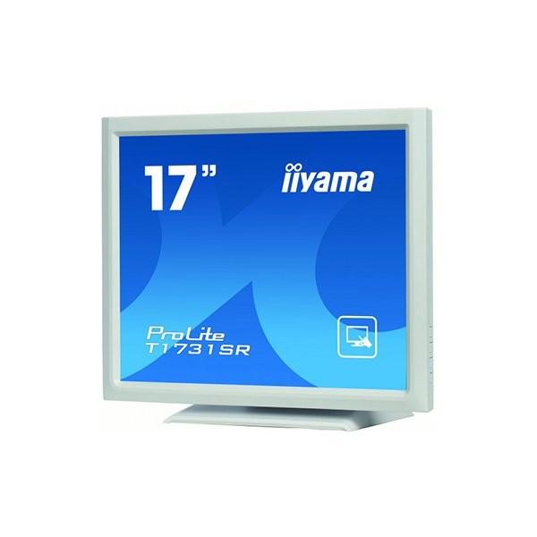 iiyama ProLite T1731SR, 43.2 cm (17''), λευκό (T1731SR-W1)
