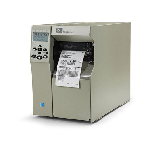 Zebra 105SL Plus 12 dots/mm (300 dpi), rewinder, ZPLII, print server (ethernet, wifi) (103-8KE-00210)