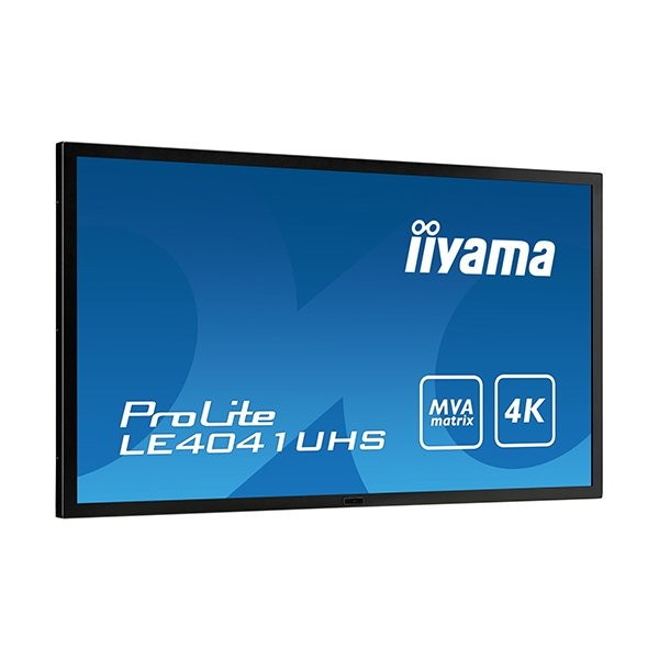 iiyama ProLite LE4041UHS, 100cm (39.5''), 4K, μαύρο (LE4041UHS-B1)