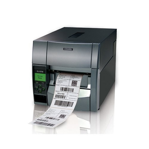 Citizen CL-S703, 12 dots/mm (300 dpi), peeler, MS, ZPLII, Datamax (Ethernet, Premium) (1000795E2PL)