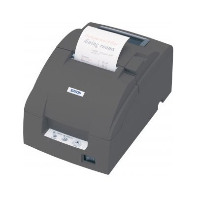 Epson TM-U220B, Ethernet, cutter, μαύρο (C31C514057BD)