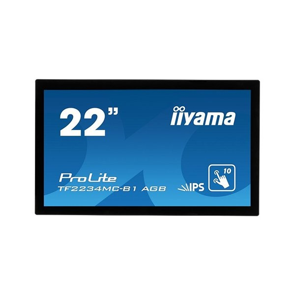 iiyama ProLite TF2234MC, 54.6cm (21.5''), projected capacitive, 10 TP, full HD (TF2234MC-B1AGB)