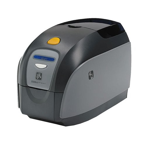 Zebra ZXP Series 1, μονής όψης, 12 dots/mm (300 dpi), USB, Ethernet (Z11-000C0000EM00)