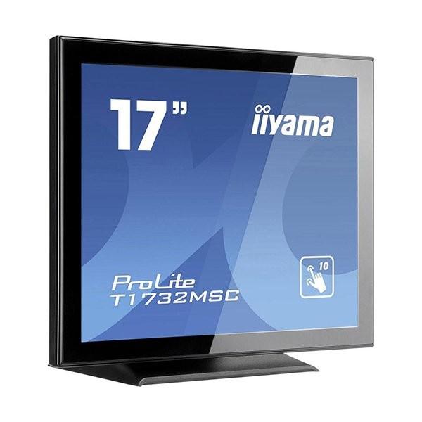 iiyama ProLite T1732MSC, 43.2 cm (17''), projected capacitive, 10 TP, μαύρο (T1732MSC-B1X)