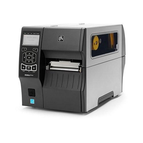 Zebra ZT410, 24 dots/mm (600 dpi), peeler, rewinder, RTC, οθόνη, EPL, ZPL, ZPLII, USB, RS232, bluetooth, Ethernet (ZT41046-T4E0000Z)
