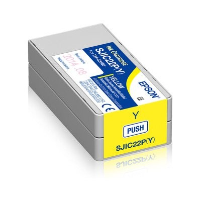 Epson δοχεία μελανιού, κίτρινο (C33S020604)