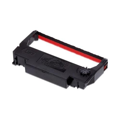 Epson ERC 38, έγχρωμη ταινία, μαύρο, κόκκινο (C43S015376)