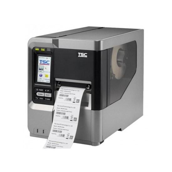 TSC MX640, 24 dots/mm (600 dpi), οθόνη, RTC, TSPL-EZ, USB, RS232, LPT, Ethernet (99-051A003-00LF)