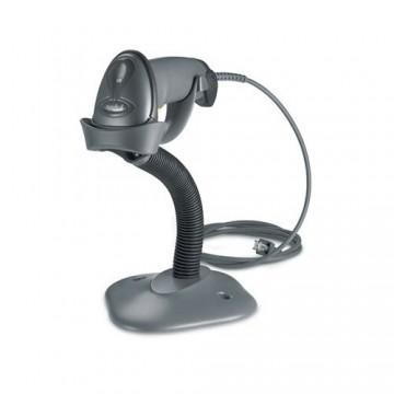 Zebra LS2208, 1D, kit (USB), ανθρακί (LS2208-SR20007R-UR), LS2208-SR20007R-UR