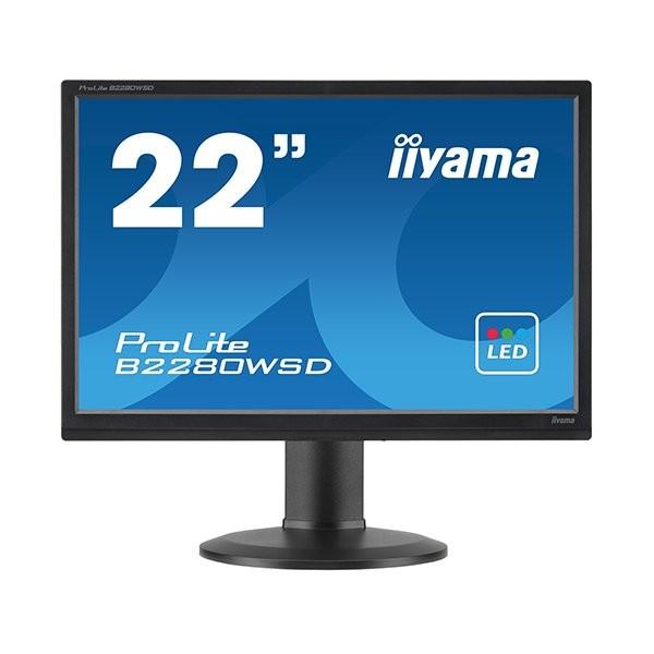 iiyama ProLite B2280WSD, 55.9 cm (22''), μαύρο (B2280WSD-B1)