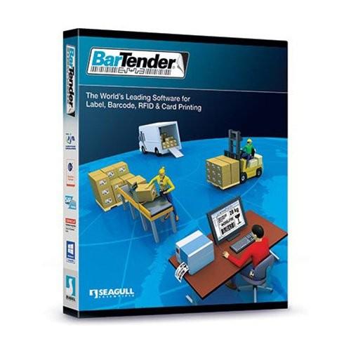 Seagull BarTender αυτοματοποίηση επιχείρησης, 3 εκτυπωτές, περιλαμβάνει: βύσμα USB (BT-EA3 + βύσμα USB)