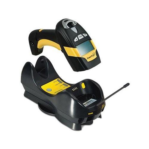 Datalogic PowerScan PM8300, 1D, kit (KBW), μαύρο, κίτρινο (PM8300-433K3)
