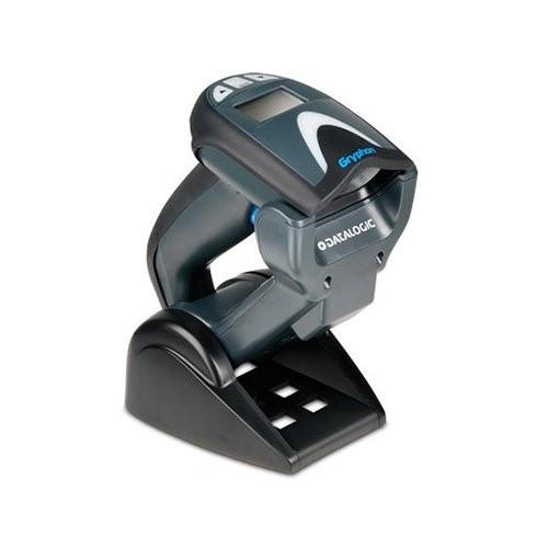 Datalogic Gryphon GM4130, 1D, kit (RS232), μαύρο (GM4130-BK-433K2)