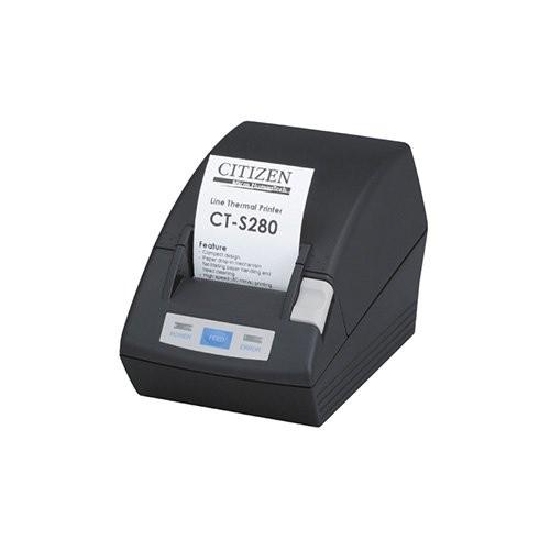 Citizen CT-S280, USB, 8 dots/mm (203 dpi), μαύρο (CTS280UBEBK)