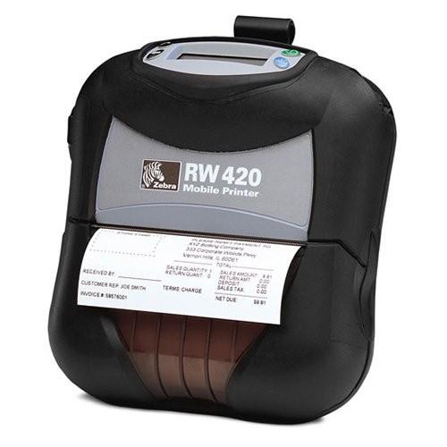 Zebra RW 420, 8 dots/mm (203 dpi), οθόνη, EPL, ZPL, CPCL, Wi-Fi (R4D-0UGA000E-00)