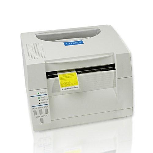 Citizen CL-S521, 8 dots/mm (203 dpi), cutter, ZPL, Datamax, λευκό (1000816C)