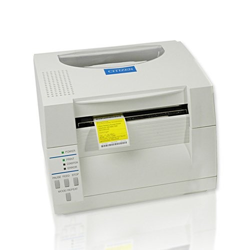 Citizen CL-S521, 8 dots/mm (203 dpi), cutter, ZPL, Datamax (Ethernet, Premium), λευκό (1000816E2C)