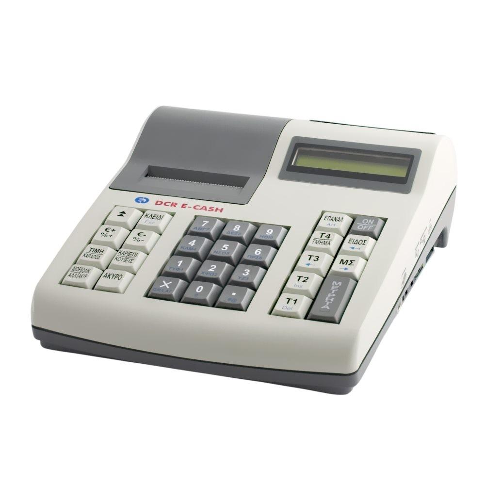 Ταμειακή Μηχανή DCR E-Cash Λευκή - πληρωμή έως 6 άτοκες δόσεις