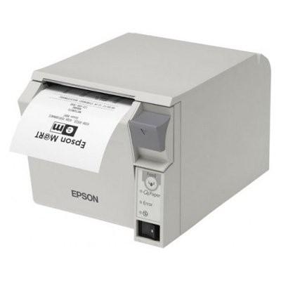 Epson TM-T70II, USB, Βluetooth (iOS), λευκό (C31CD38971)