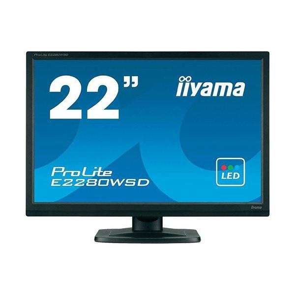 iiyama ProLite E2280WSD, 55.9 cm (22''), μαύρο (E2280WSD-B1)
