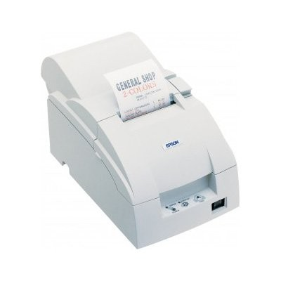 Epson TM-U220A, Ethernet, cutter, λευκό (C31C516007E)